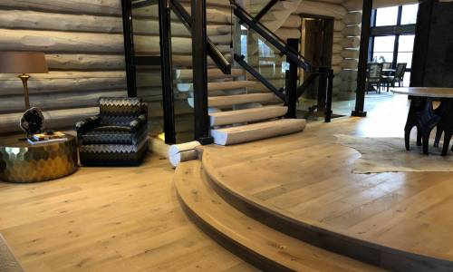 White Oak Texturewood 174 Floors By Birch Creek Millwork Inc