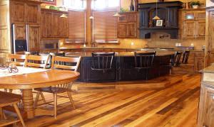 Antique Oak Weathered Kitchen
