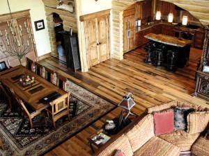 Antique Weathered Oak Kitchen