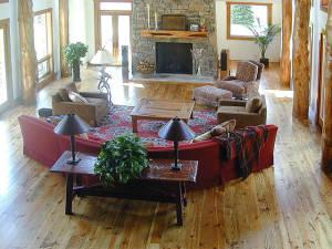 Southern Yellow Pine Living Room