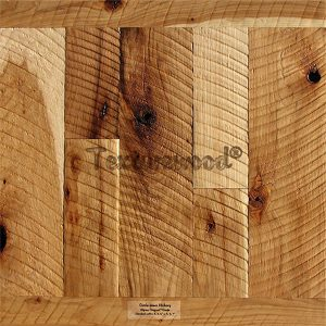 Hickory w/ Circle Sawn Texture