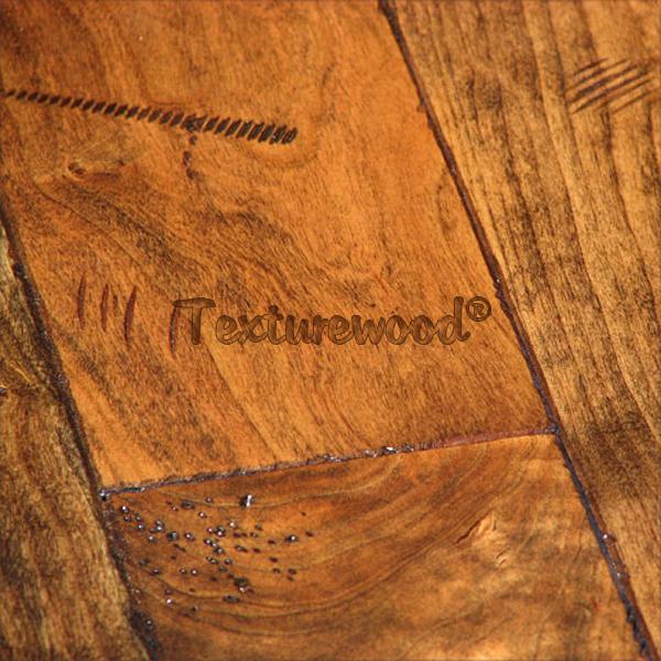 Cherry W Draw Knife Distressed Texture