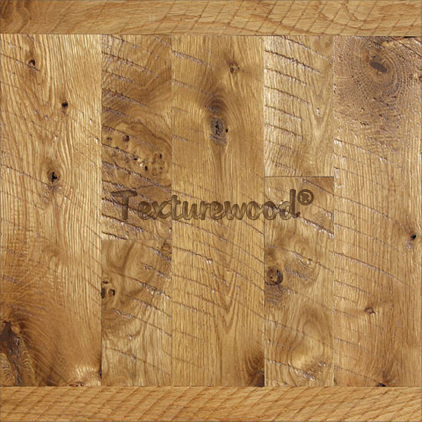 White Oak w/ Hand Scraped Plus Texture