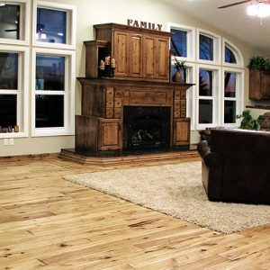 Hickory-Hand-Scraped-Chalet-Living-Room