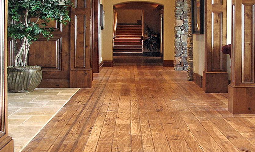 TexturewoodR Custom Hardwood Flooring By Birch Creek Millwork Inc