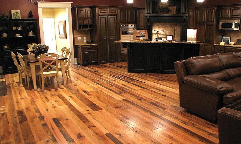 Textured Hardwood Flooring Handcrafted For You